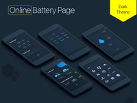 Online Battery Booking Screens