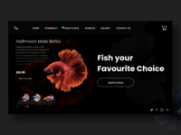 Fish Only Landing Page
