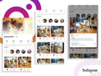 Instagram Profile Redesign Concept