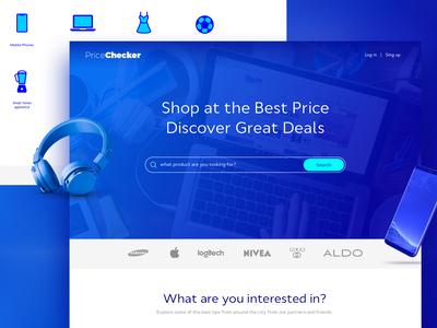 Price Checker Website Design