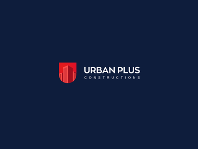 Urban Plus Construction Logo