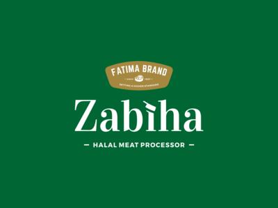 Fatima Brand's Zabiha Logo