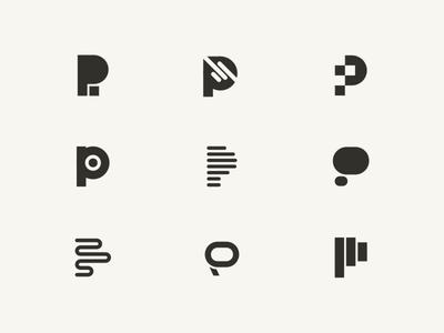 P Logo Collection