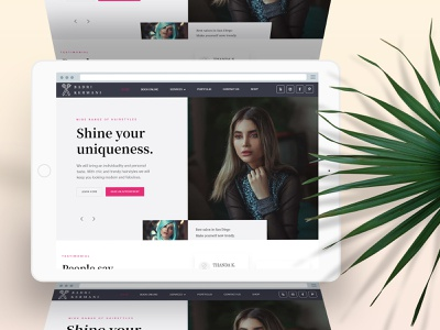 Badri Hair Salon - SEO Ranking web design uidesign ux design seo strategy seo ranking seo services seo