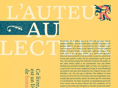 Lyon Text Specimen grid proportion layout design typography
