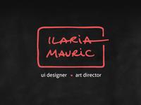 Ilaria Mauric Logo