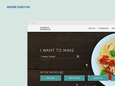 Jessica Seinfeld 3 food website recipe website fresh homepage search