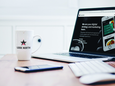 Look North Website design studio digital marketing digital strategy new website