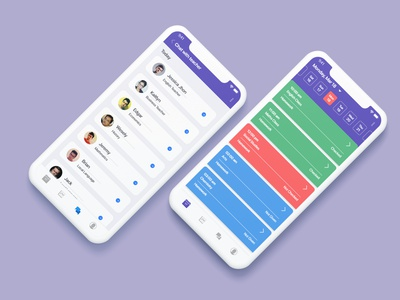 Student Progress App minimal web icon app design ux xd ui ps ai