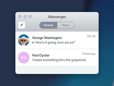 window design ui mac app