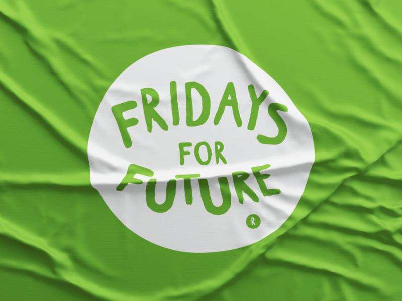 Fridays For Future advertising print branding design