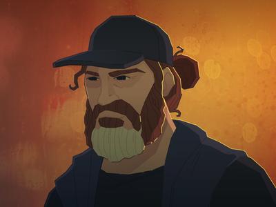 Joe phoenix joaquin portrait vector illustration illustrator here really never were you joe