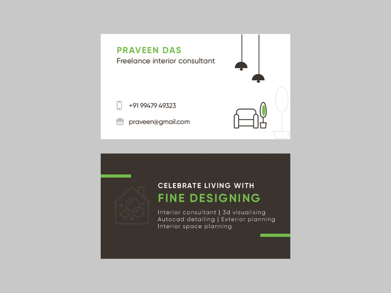 visting card illustrator icon illustration logo branding typography ui design creative ux