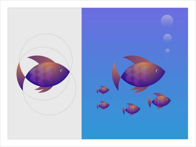 fishy 3200 illustrator icon illustration app uiux android logo branding design creative ux
