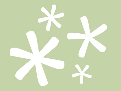 It's Cold Outside typography snowflakes christmas