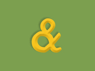Borrowed Some Gold type design typography ampersand kitsch