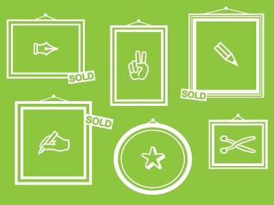 Sold Out illustration vector dingbats prattcomd