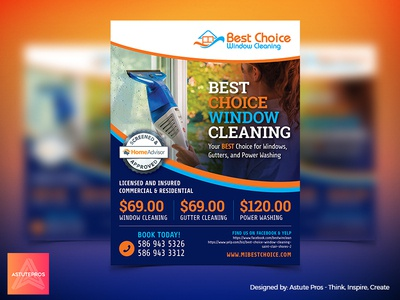 Best Choice Cleaning - Flyer Design