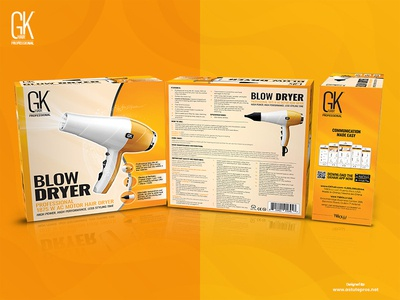 Gkhair Blow Dryer Packaging