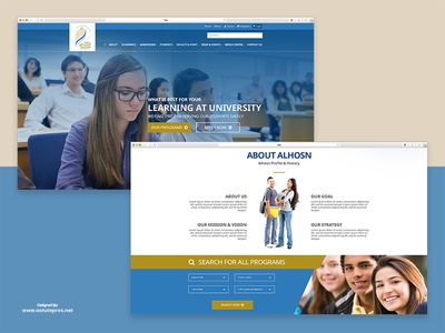 AlHosn University - Website Home
