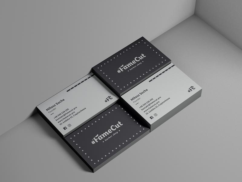#FameCut | Business card