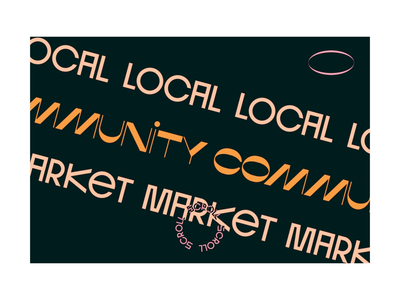 Local Community Market parallax interation design interation local community market london motion graphics motion design motion concept webdesign illustration ui design ui interaction design typography digital animation