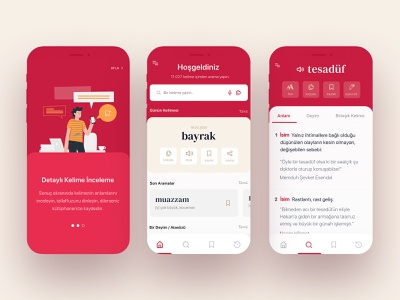 T.D.K Redesign App minimal figma figmadesign glossary word dictionary redesign ios app product design mobile app mobile design uxdesign uidesign