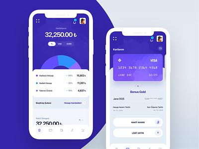 Banking Mobile Dashboard userinterface banking app ux mobile app mobile web ui design app design