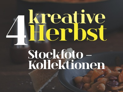 Teaser for Stock Photo Collection teaser stock fotos typography