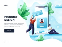 Product design illustration