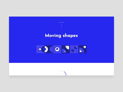 Moving shapes