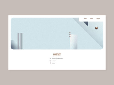 Porfolio - parallax scroll parallax scroll home porfolio gradient ui vector minimal webdesign web motion inspiration design daily animation