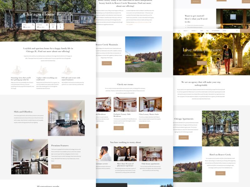 BookLuxury | Work Process rental typography booking viper luxury design luxury