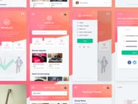 Sharing mobile app | User Interface