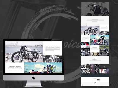 Classics ux web design ui