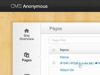 Multi-site CMS