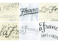 La France- logo development