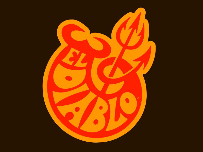 El Diablo Sticker Design by Brett Stenson on Dribbble