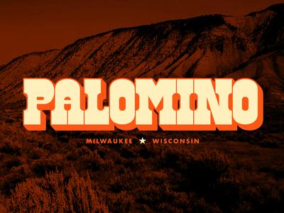 Palomino Rebrand - Logotype