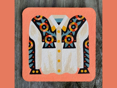 Nucleus Coaster - Nathan Turk draw illustration shirt painting drawing