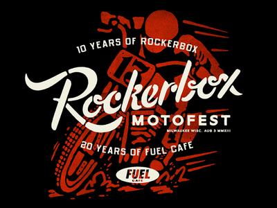 Rockerbox - Double Anniversary Shirt