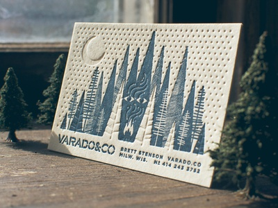 Varado & Co. Haunted Forest Cards