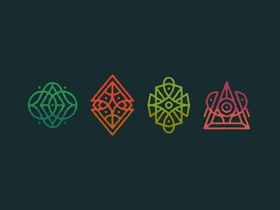 Galactic Forest Icons