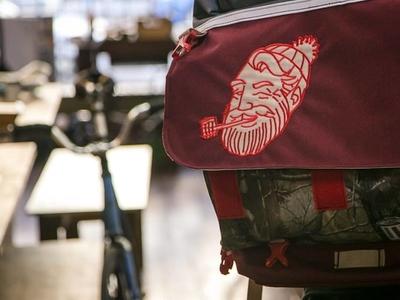 Paul Bunyan Messenger Bag Patch paul bunyan patch messenger bag