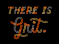 """There is Grit."" - Typography for MIAD Alumni"