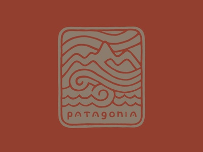 Patagonia Hat Graphic drawn design apparel graphic logo illustration jolby hat patagonia