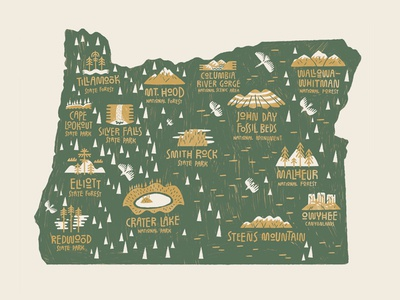 Patagonia Portland - Oregon hero portland patagonia oregon drawing illustration