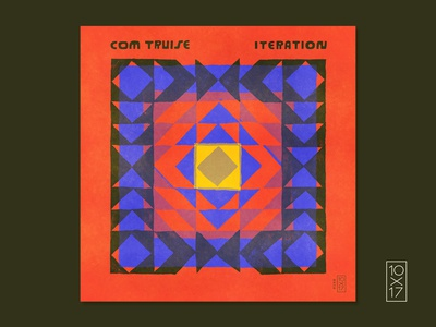 "10x17 / #9 Com Truise - ""Iteration"""