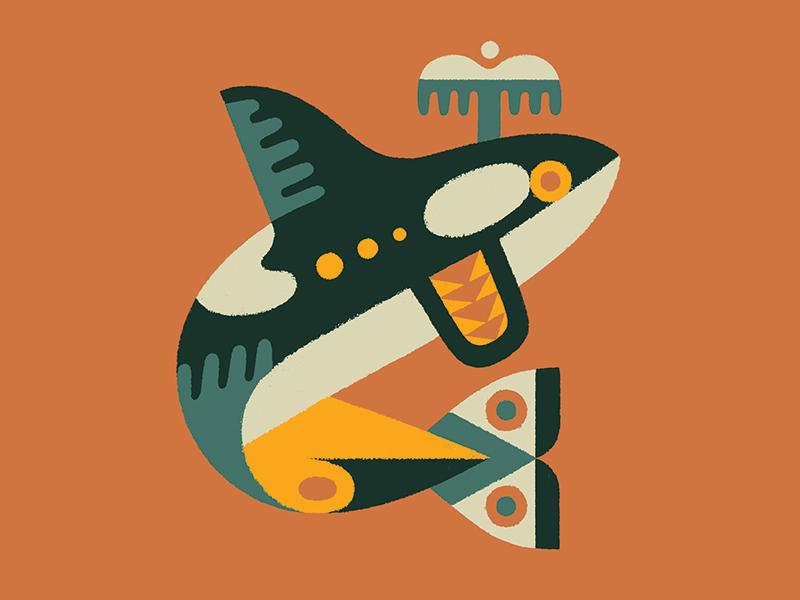 Orca illustration