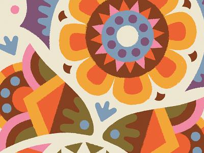 Flowers branding art design illustration drawing draw coffee flowers